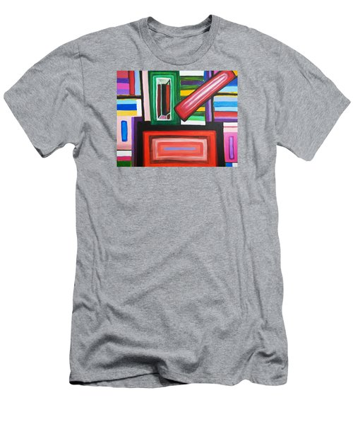 Color Squares Men's T-Shirt (Athletic Fit)