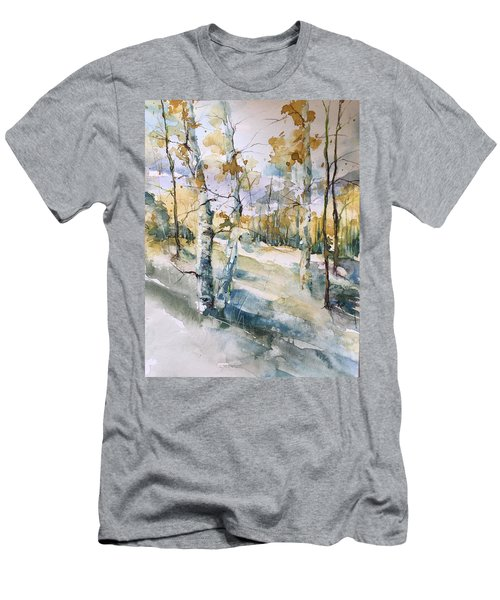Colorado Aspens And Cottonwoods Men's T-Shirt (Athletic Fit)