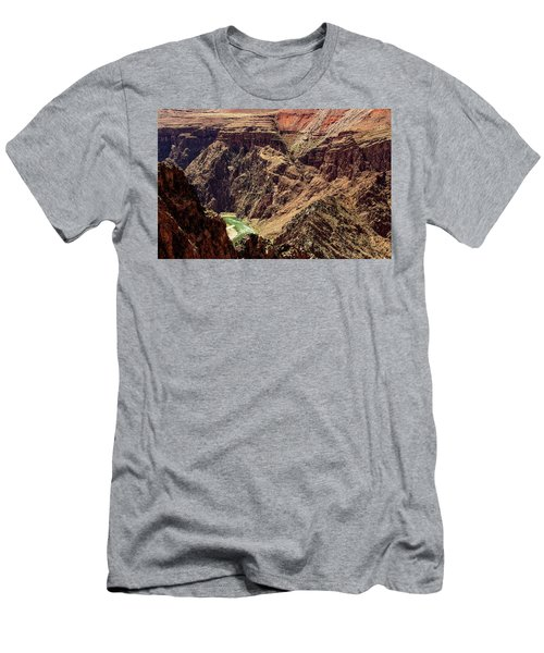 Colorado River From The South Kaibab Trail Men's T-Shirt (Athletic Fit)