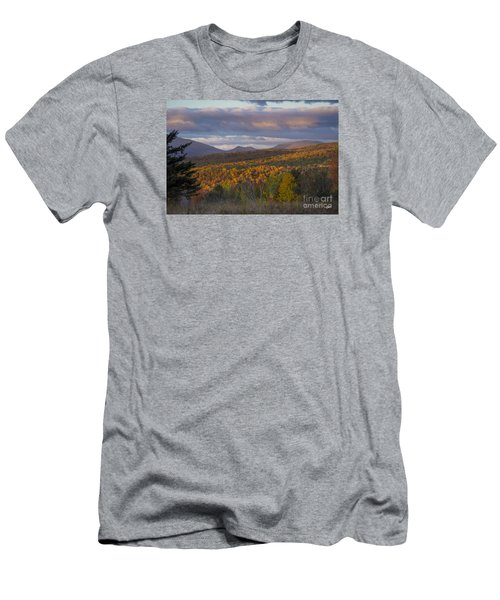 Colorful Autumn Men's T-Shirt (Slim Fit) by Alana Ranney
