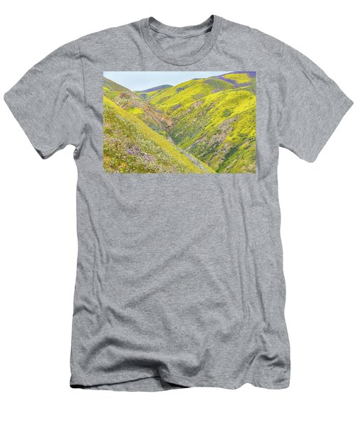 Men's T-Shirt (Slim Fit) featuring the photograph Colorful Canyon by Marc Crumpler
