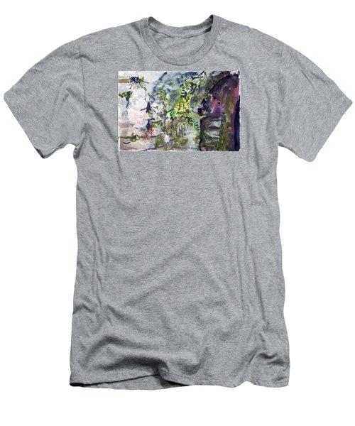 Colorful Foliage Men's T-Shirt (Athletic Fit)
