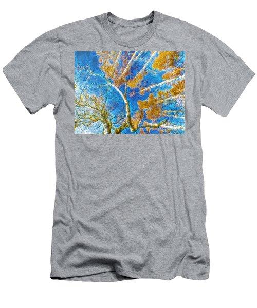 Colorful Mystical Forest Men's T-Shirt (Athletic Fit)