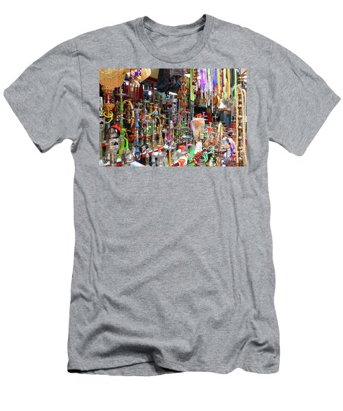 Colorful Space Men's T-Shirt (Athletic Fit)