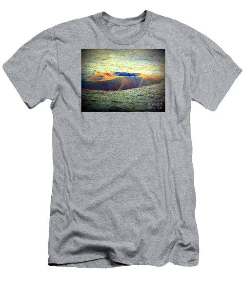 Colorful Volcanic Ash Men's T-Shirt (Slim Fit) by John Potts