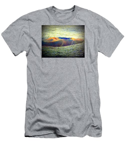 Colorful Volcanic Ash Men's T-Shirt (Athletic Fit)