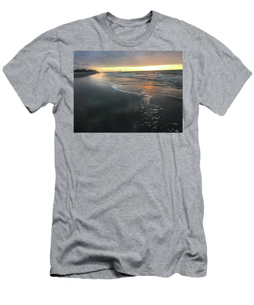 Colors Of A Storm At Sunrise Men's T-Shirt (Athletic Fit)