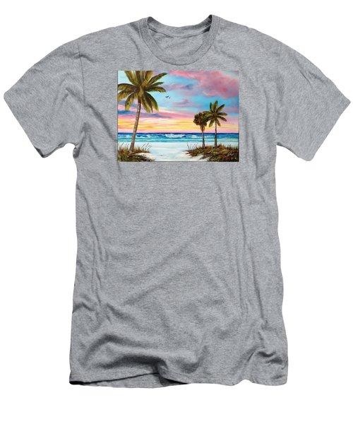 Colors Of Siesta Key Men's T-Shirt (Athletic Fit)