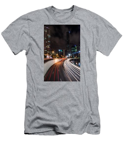 Colors Of The City Men's T-Shirt (Slim Fit) by Parker Cunningham