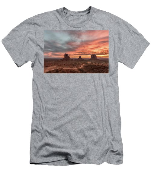 Men's T-Shirt (Slim Fit) featuring the photograph Colors Of The Past by Jon Glaser