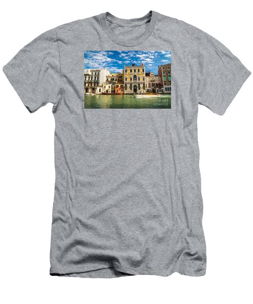 Colors Of Venice - Italy Men's T-Shirt (Athletic Fit)