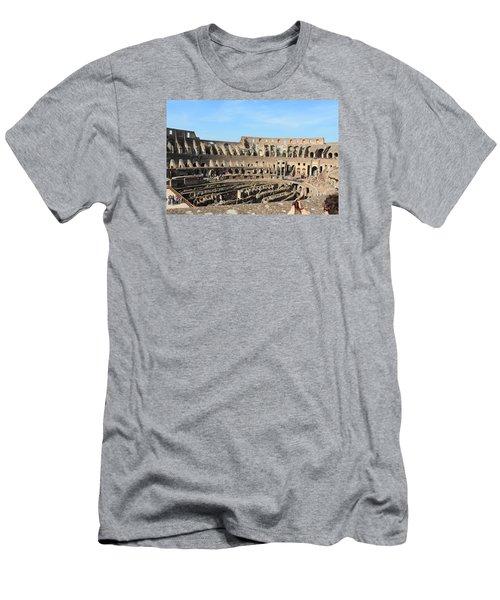 Colosseum Inside Men's T-Shirt (Slim Fit) by Kaitlin McQueen