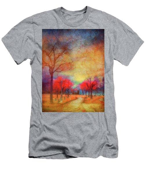Colour Burst Men's T-Shirt (Athletic Fit)