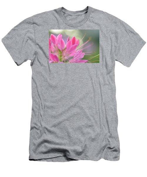 Colourful Greeting II Men's T-Shirt (Slim Fit) by Janet Rockburn