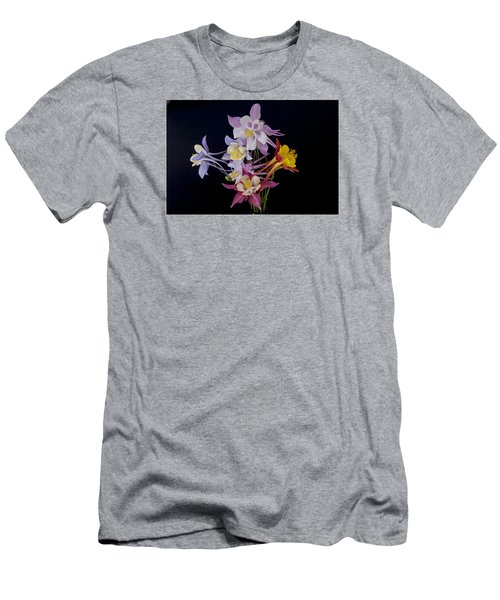 Columbine Medley Men's T-Shirt (Slim Fit) by Gary Lengyel