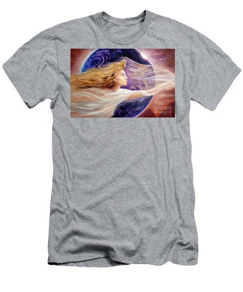 Comet Dreamer Voyage  Men's T-Shirt (Athletic Fit)