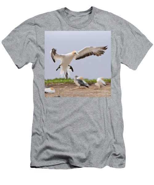Coming In To Land Men's T-Shirt (Athletic Fit)