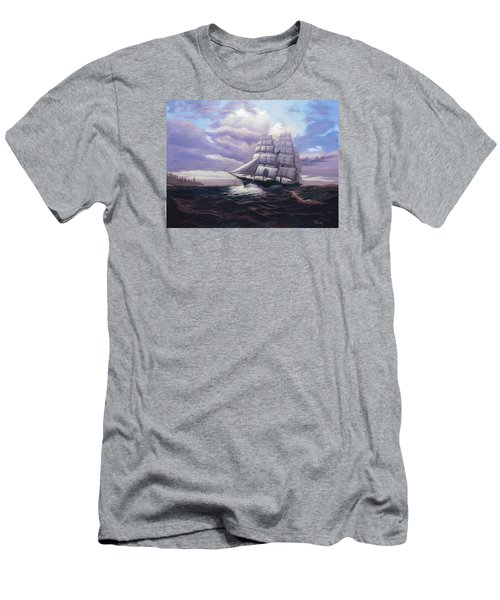 Coming Through The Storm Men's T-Shirt (Athletic Fit)