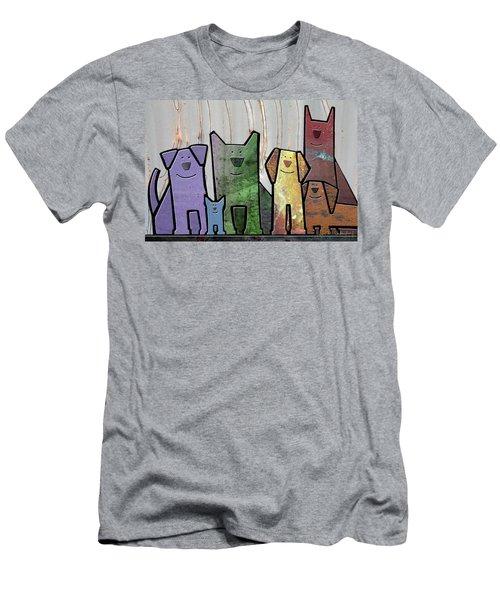 Committee Men's T-Shirt (Slim Fit) by Joan Ladendorf