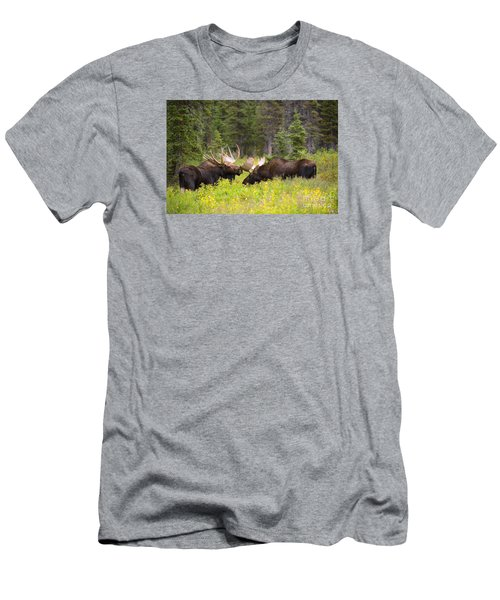 Men's T-Shirt (Slim Fit) featuring the photograph The Competition  by Aaron Whittemore