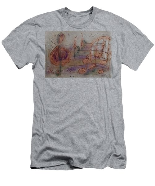 Composition In B Flat Men's T-Shirt (Athletic Fit)