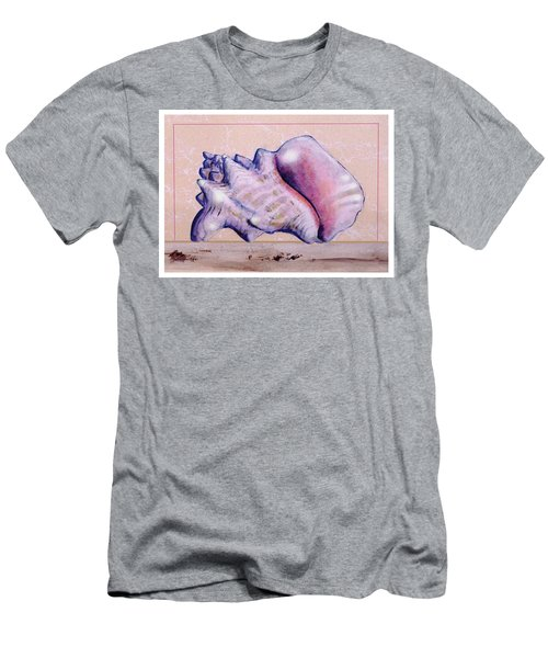 Conch Shell Men's T-Shirt (Athletic Fit)