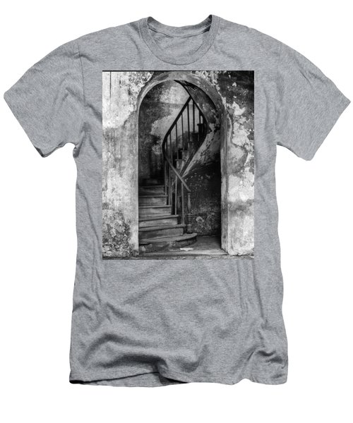 Concrete And Stairwell Men's T-Shirt (Athletic Fit)