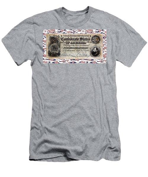 Confederate Money Men's T-Shirt (Athletic Fit)
