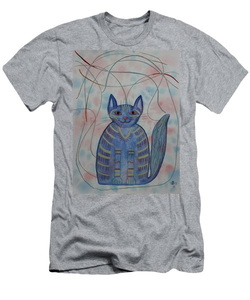 Connection Cat  Men's T-Shirt (Athletic Fit)