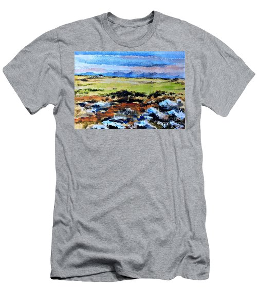 F  801  Connemara Golf, Ballyconneely, Galway Men's T-Shirt (Athletic Fit)