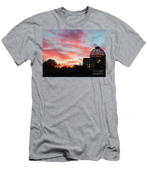Conservatory At Sunset Men's T-Shirt (Athletic Fit)