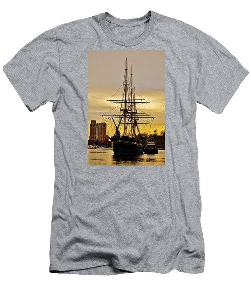 Constellation Gold Men's T-Shirt (Slim Fit) by William Bartholomew