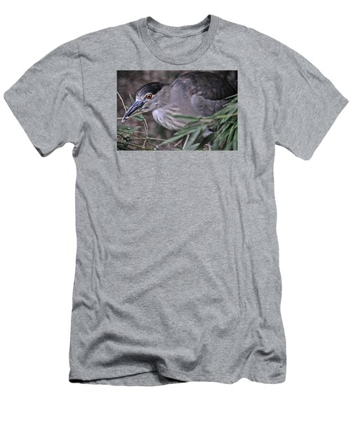 Constructing A Nest Men's T-Shirt (Slim Fit) by Mike Martin