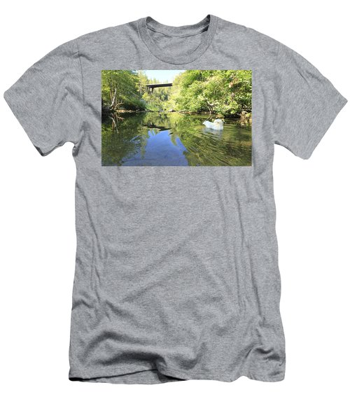 Men's T-Shirt (Athletic Fit) featuring the photograph Consumed By The Light by Sean Sarsfield