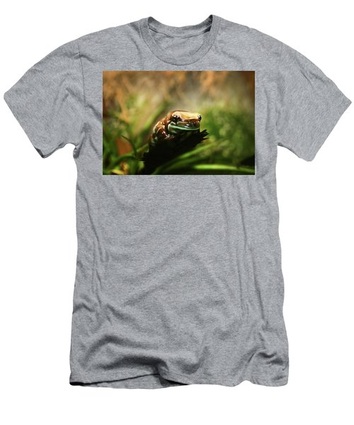Men's T-Shirt (Slim Fit) featuring the photograph Content by Anthony Jones