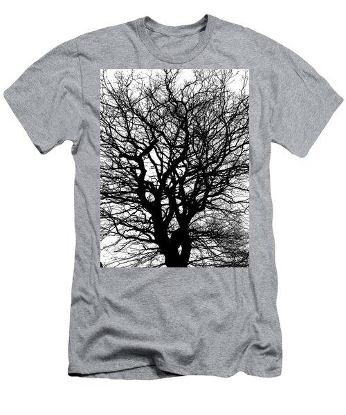 Contrast Men's T-Shirt (Athletic Fit)