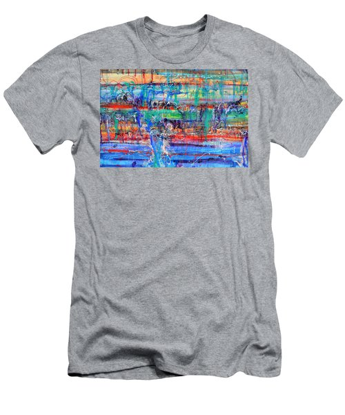Convection Diffusion Men's T-Shirt (Athletic Fit)