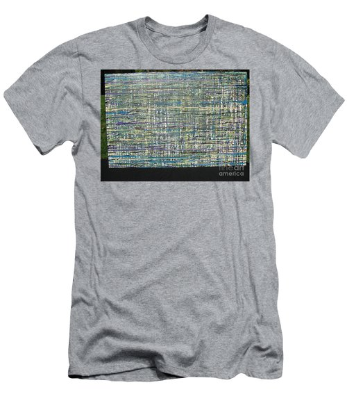 Convoluted Men's T-Shirt (Slim Fit) by Jacqueline Athmann