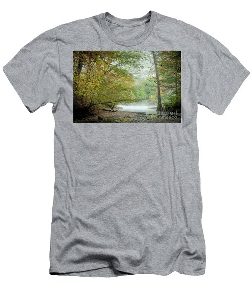 Men's T-Shirt (Slim Fit) featuring the photograph Cool Morning by Iris Greenwell