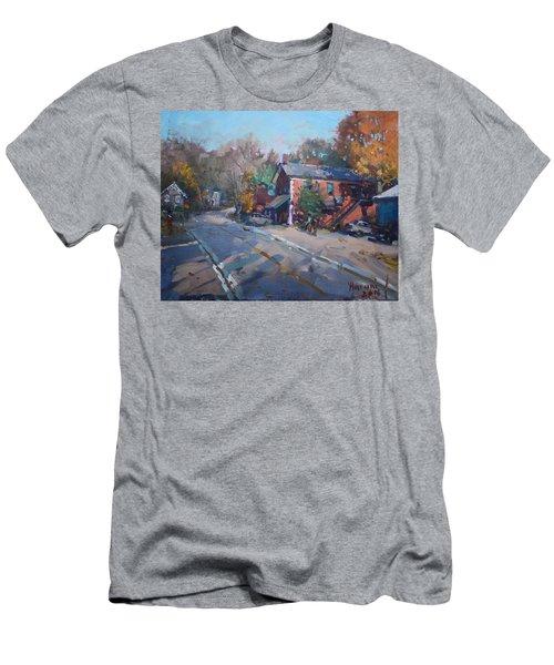 Copper Kettle Pub In Glen Williams On Men's T-Shirt (Athletic Fit)