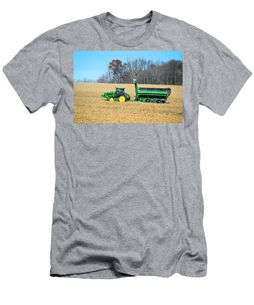 Corn Harvest Men's T-Shirt (Slim Fit) by Bonfire Photography