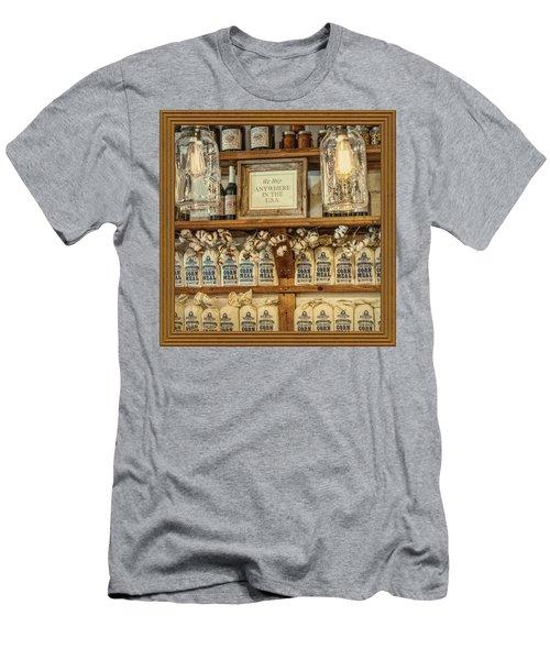 Corn Meal Men's T-Shirt (Athletic Fit)