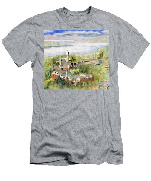 Cornell University Men's T-Shirt (Slim Fit) by Melly Terpening