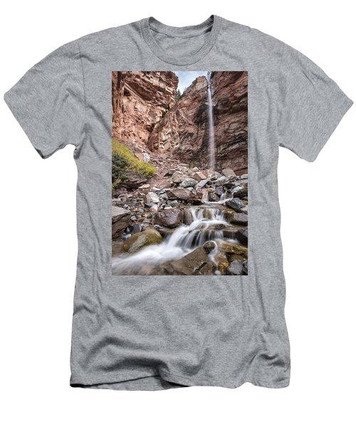 Cornet Falls Men's T-Shirt (Athletic Fit)