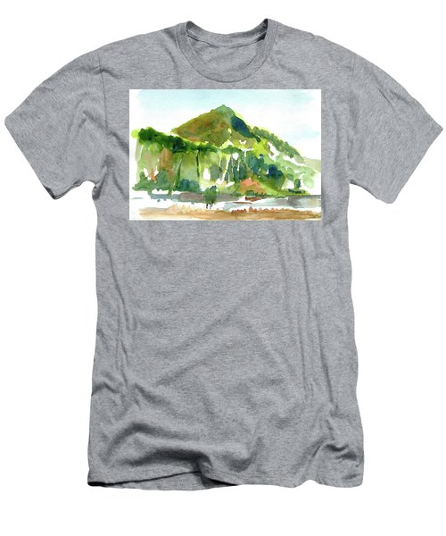 Corte Madera Creek Men's T-Shirt (Slim Fit) by Tom Simmons