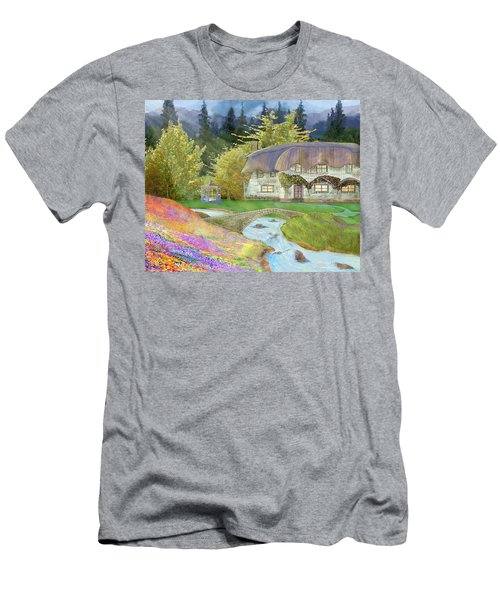 Cottage Men's T-Shirt (Slim Fit)
