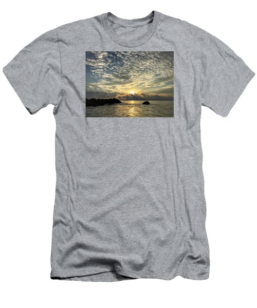 Cotton Clouds Men's T-Shirt (Slim Fit)