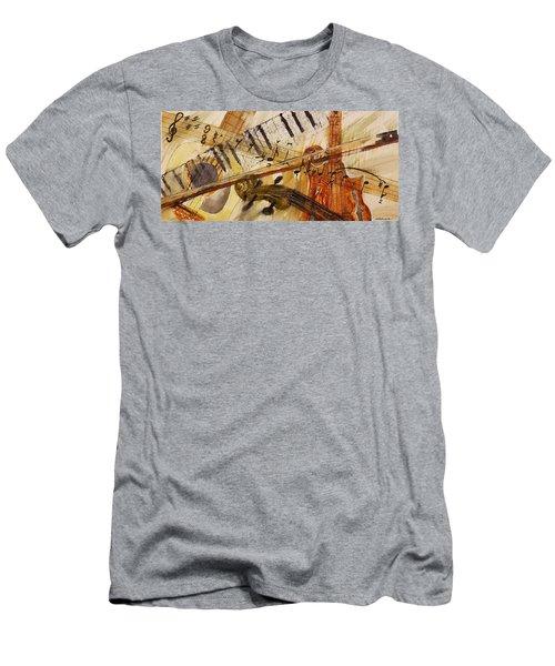 Cotton Pickin' Blues Men's T-Shirt (Athletic Fit)