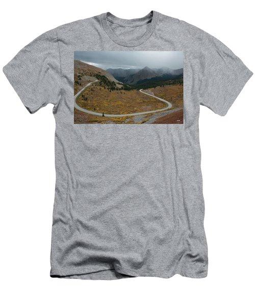 Cottonwood Pass #2 Men's T-Shirt (Slim Fit) by Dana Sohr