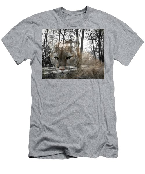Cougar The Cunning One Men's T-Shirt (Athletic Fit)